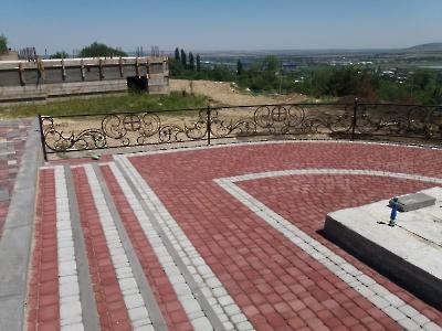 Площадка и решетка под поклонный крест_1